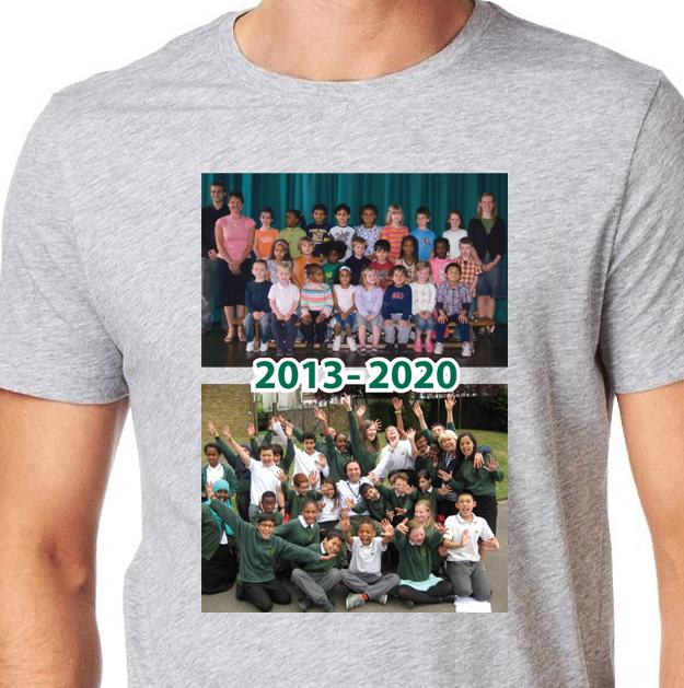 grey t shirt'20